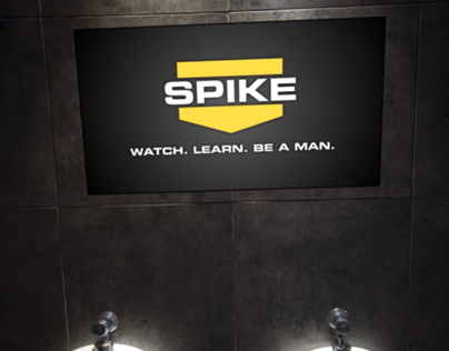 Spike TV Urinal spec ad