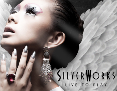 SILVERWORKS x Cassandra: Warrior Angel - Billboard #2