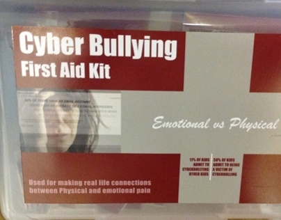 Cyber Bullying Awareness Article and 3D piece