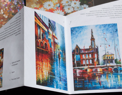 Leonid Afremov Artists Book