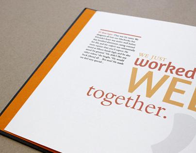 Biographic Book Design