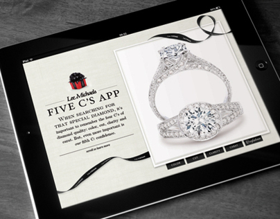 "iPad App: ""The 5 C's of Diamond Buying"""