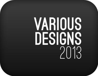 Various designs 2013