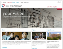 Partners Harvard Medical International Website