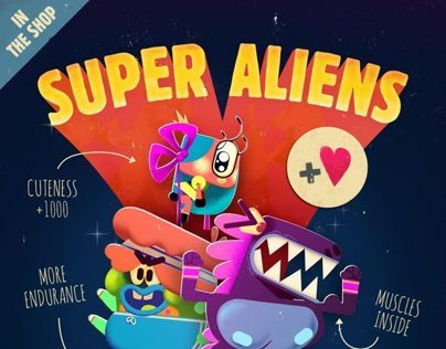 Smart Aliens - the movie