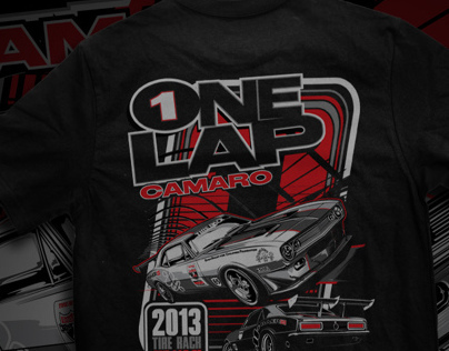 One Lap Tees X4