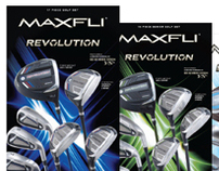 Maxfli Golf Club Set Packaging