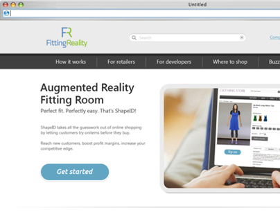 Fitting reality website
