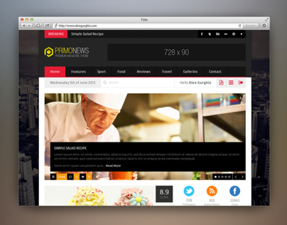 PrimoNews - Premium Review Magazine Theme