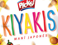 Kiyakis - Peanuts for the argentinian market.