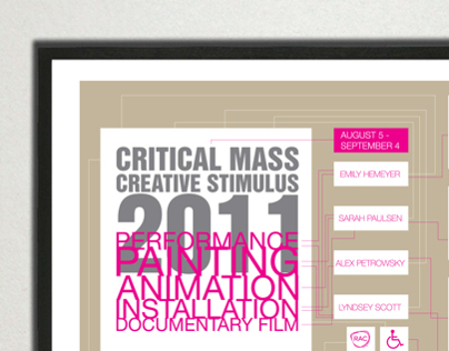 2011 Critical Mass Exhibition Collateral