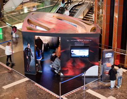 Man of Steel | Interactive Movie Launch Exhibit