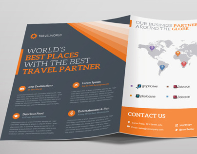 Travelworld Trifold Brochure