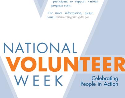 National Volunteer Week 2010 Poster