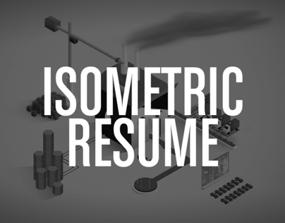 MY ISOMETRIC RESUME