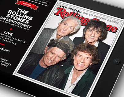 ROLLING STONE IPAD APP (GERMAN EDITION)