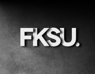 Logo design for FKSU Creative.
