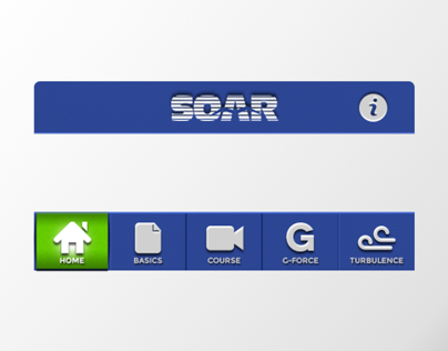 SOAR iOS Application UI design