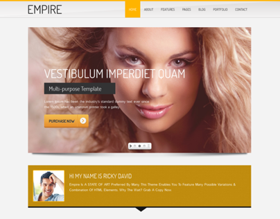 Empire - Business, Portfolio HTML 5 Template