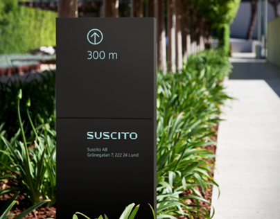 Suscito Corporate and Brand Identity