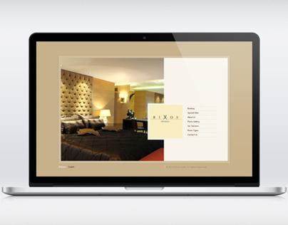 Hotel Website Interface Design