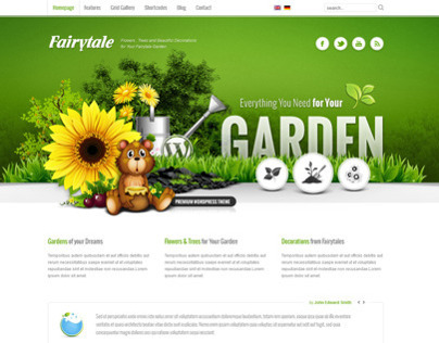 CLEAN WordPress Fairytale