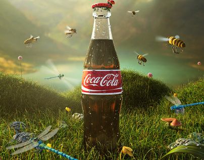 Coca Cola Brand Visual