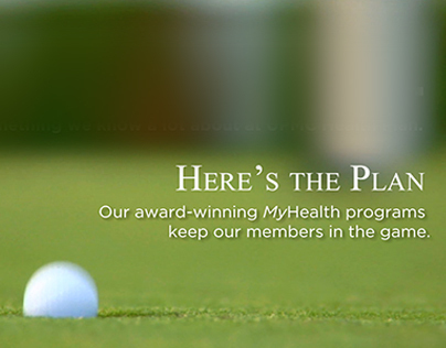 UPMC Health Plan MyHealth Golf Videoboard