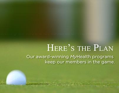 UPMC Health Plan MyHealth Golf Videoboard