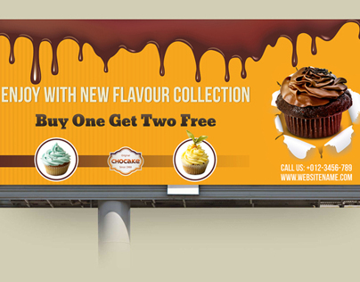 Cake Billboard Template Vol.2