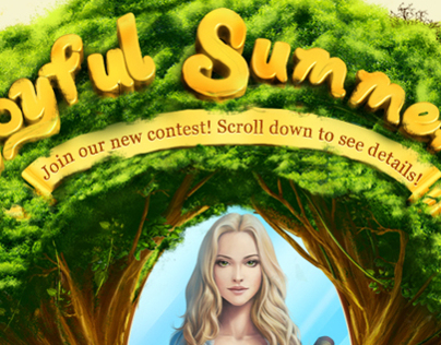 Promo Site for Summer Contest