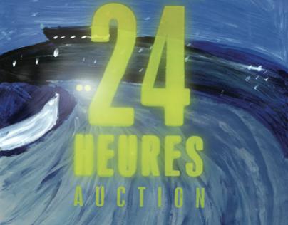Le Mans 24 Heures Auction Card
