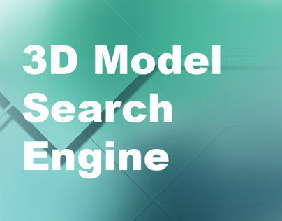 Graduate research part 2: 3D model search engine
