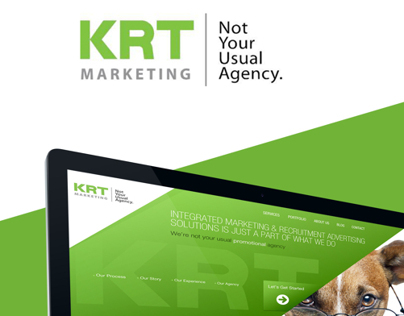 KRT Marketing Website Redesign