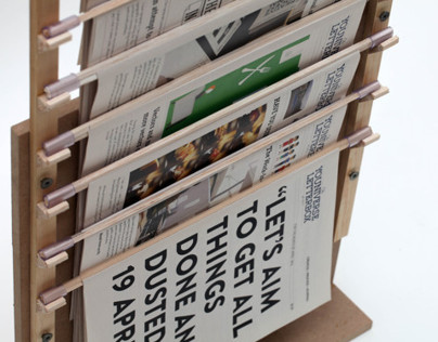 The Newspaper Stand - Creative Process Journal