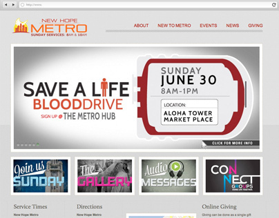 New Hope Metro Website