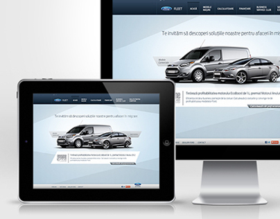 Ford Fleet - Website