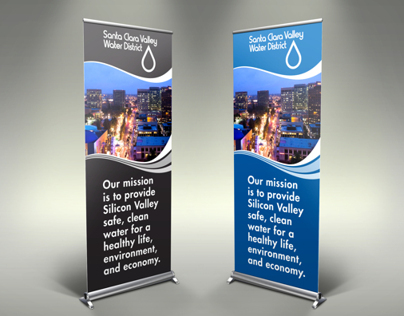 Water District Display Banners