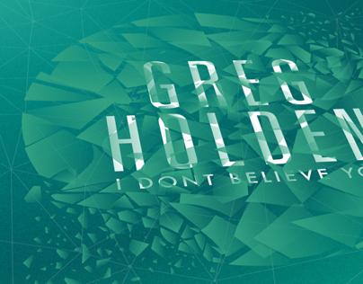 Greg Holden, Album cover design