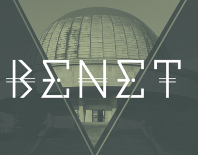 Benet doble line · Typography