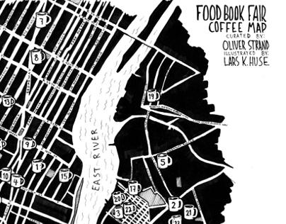 NYC Coffee Map