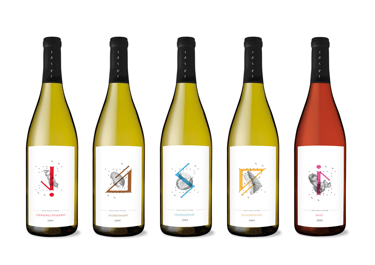 Jásdi Wine Labels