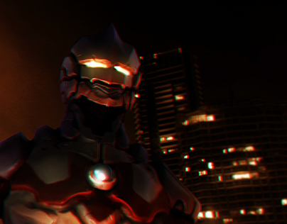 The new Ultraman (FanArt)