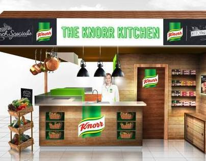 Knorr Pop Up Kitchen