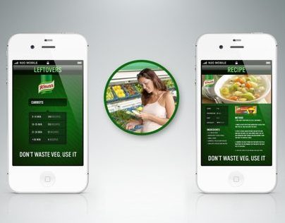 Knorr Leftovers App