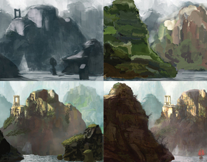 Digital Painting Process