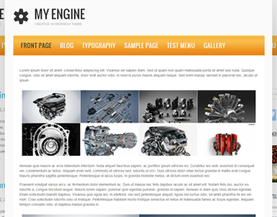 My Engine Free WordPress Theme