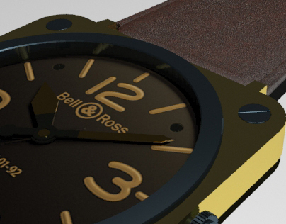 Bell&Ross Limited Edition 3D model.