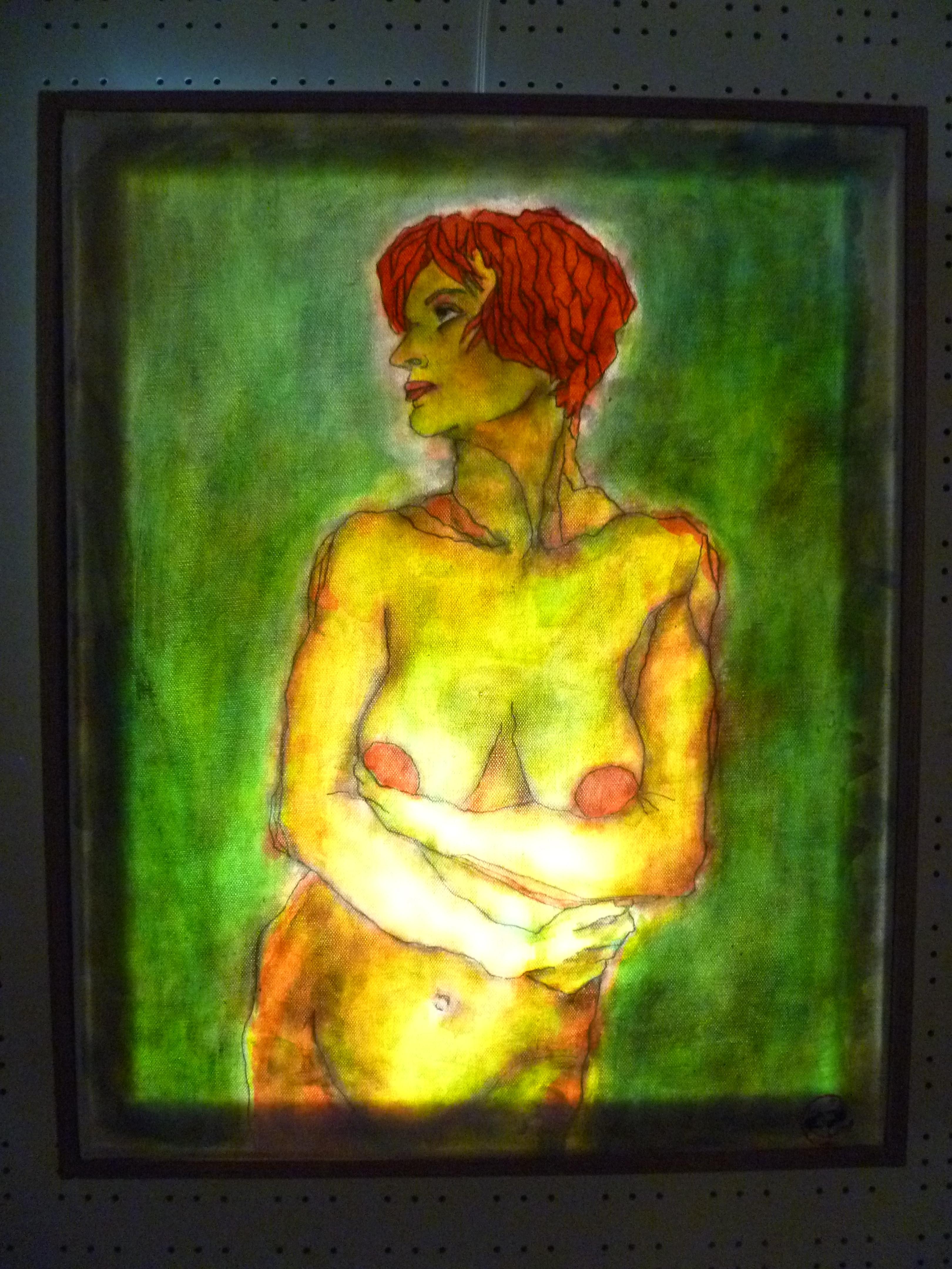 Light (Phos) - part. 2/ Six womens figures