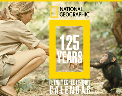 NATIONAL GEOGRAPHIC 125 YEARS LIMITED EDITION CALENDAR